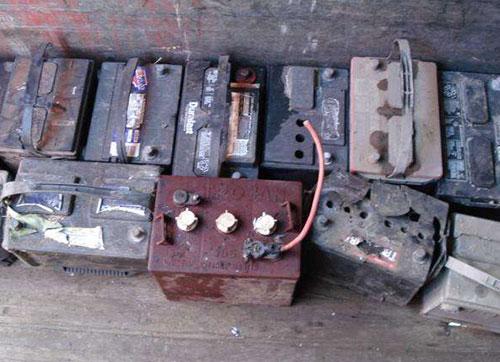 南京回收废旧电池