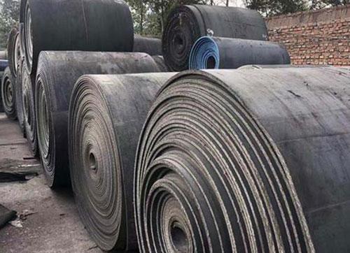 马鞍山煤矿传送带回收