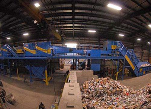 工业垃圾处理