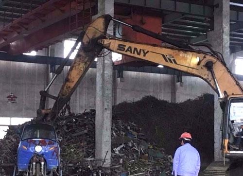 工业生产垃圾处理